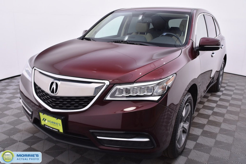 Pre-Owned 2015 Acura MDX 4DR AWD