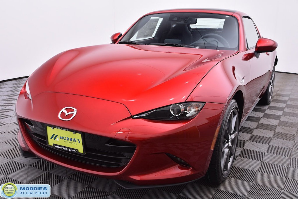new 2019 mazda mx-5 miata rf grand touring manual coupe in chippewa
