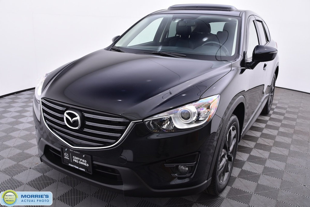 Certified Pre Owned 2016 Mazda Cx 5 Grand Touring Suv In Chippewa Falls Md11493a Morrie S Valley