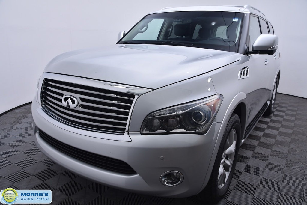 Pre-Owned 2012 INFINITI QX56 4WD 4dr 7-passenger