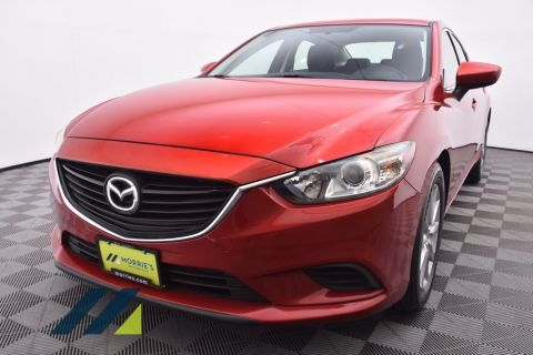 Certified Pre-Owned 2015 Mazda6 4dr Sedan Automatic i Sport