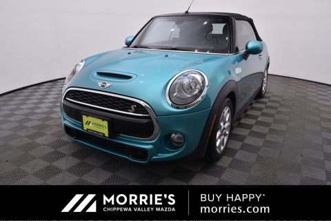 Pre-Owned 2017 MINI Cooper S Base FWD 2D Convertible